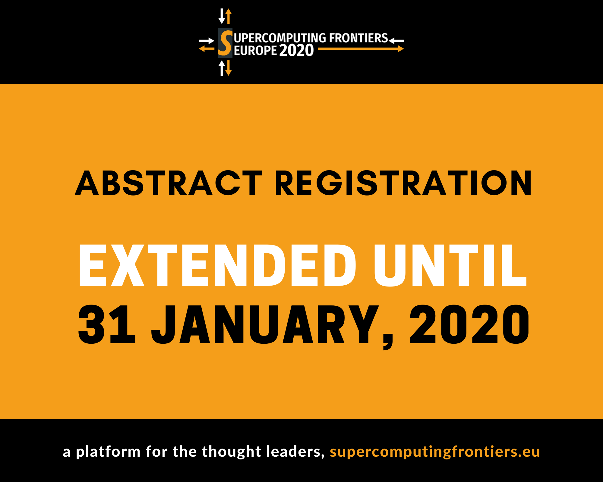 SCFE20 call for papers _ Supercomputing Frontiers Europe