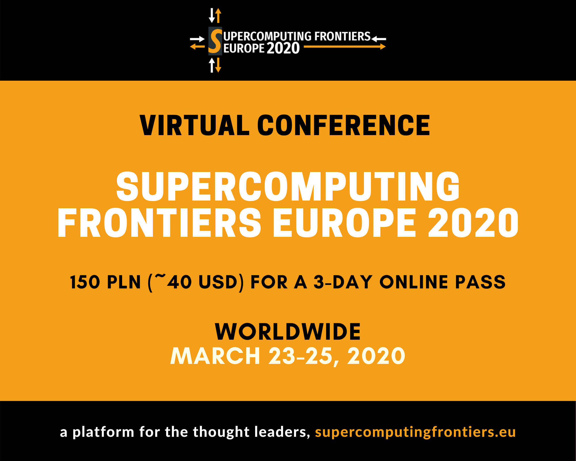 SCFE20 Virtual Conference _Supercomputing Frontiers Europe